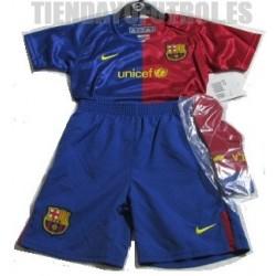 Mini Kit 1ª BEBE oficial FC Barcelona NIKE