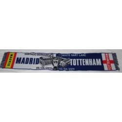 Bufanda del Real Madrid VS Tottenham