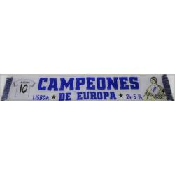 """Bufanda R.MADRID"""" CAMPEONES EUROPA 2014"""""""
