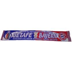 Bufanda Getafe- FC Bayern Munchen
