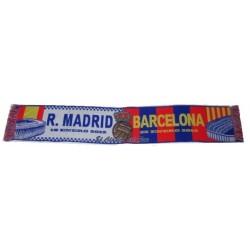 Bufanda clásico Real Madrid VS F C Barcelona