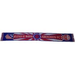 Bufanda Atlético de Madrid-Aberdeen FC