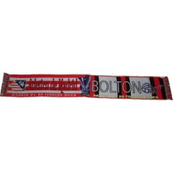 Bufanda Atlético de Madrid-Bolton FC