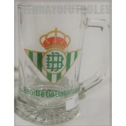 Jarra cerveza pequeña oficial Real Betis Balompié