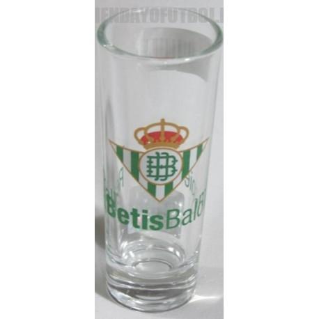 Chupitos cristal oficial Real Betis Balompié
