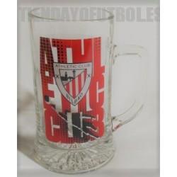 Jarra grande cerveza Athletic Club de Bilbao