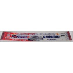 Bufanda derbi At. Madrid-Real Madrid 2018/19