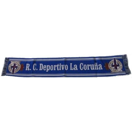 Bufanda Real Deportivo de la Coruña