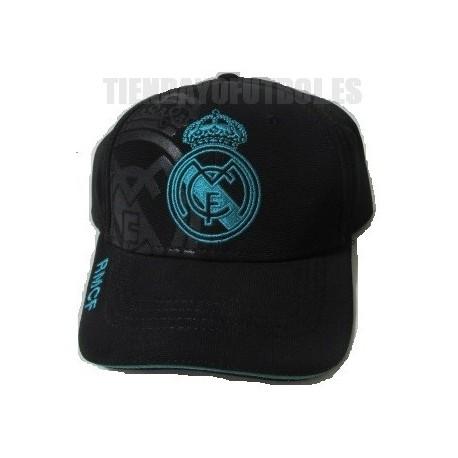 Gorra oficial Real Madrid negra