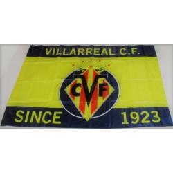 Bandera oficial Villarreal Club de Fútbol