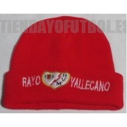 Gorro oficial Rayo Vallecano de Madrid rojo