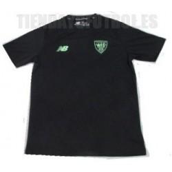 Camiseta oficial Prepartido negra 2021/22 Athletic club de Bilbao New Balance