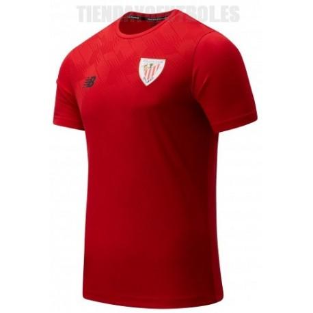 Camiseta oficial perpartido roja 2021/22 Athletic club de Bilbao New Balance