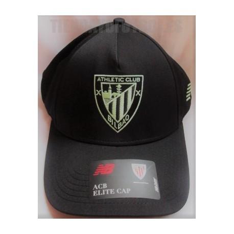 Gorra Oficial Athlétic Club de Bilbao 2021/22 New Balance negra