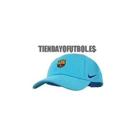 Gorra FC Barcelona azul claro Jr. Nike