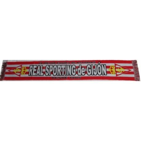Bufanda oficial del Real Sporting de Gijón