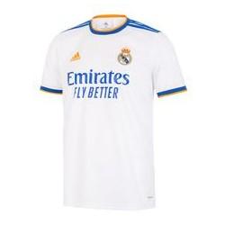 Camiseta oficial 1ª equipación Real Madrid CF 2021/22 Adidas.