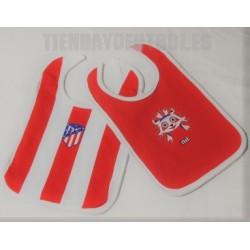 Baberos Pack 2 oficial Atlético de Madrid