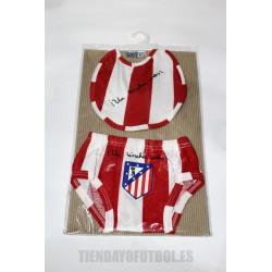 Slip + Babero Bebé Atlético de Madrid