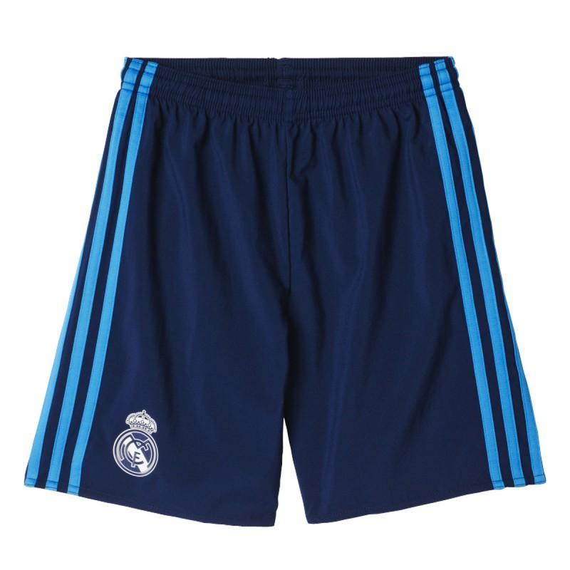 Pantalón tercera equipación real madrid | pantalón azul ...