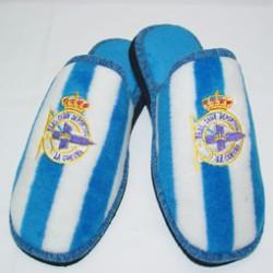 Zapatillas oficiales de estar por casa deportivo coruña