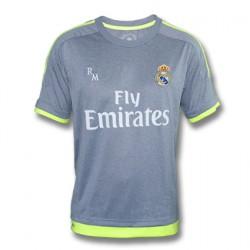 Camiseta gris 2015/16 Real Madrid CF