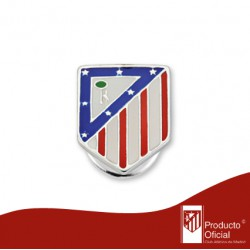 Pin plata Atlético de Madrid