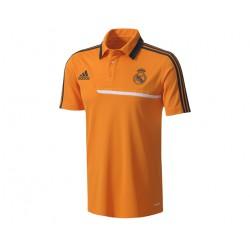 Polo Naranja Real Madrid Adidas