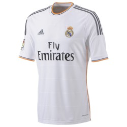 Camiseta 1ª con Naranja Real Madrid CF Adidas