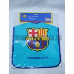 Babero azul FC Bacelona