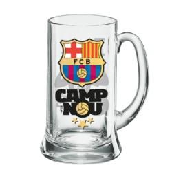 Jarra grande cerveza FC Barcelona