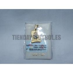 Colgante Oro Real Madrid CF pergamino