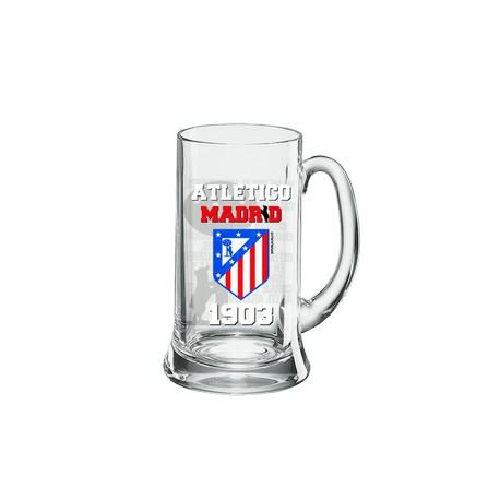 Jarra cerveza pequeña Atlético de Madrid