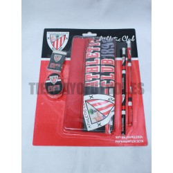 set papeleria Athletic Club bilbao