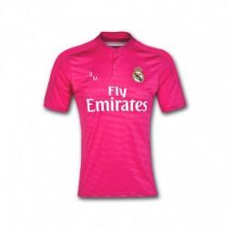 Camiseta 2ª Jr. 2014/15 oficial Real Madrid CF fucsia
