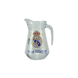 Jarra Agua Cristal Real Madrid CF