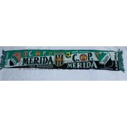 Bufanda del Mérida futbol