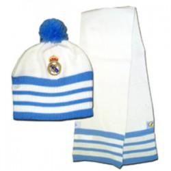 Gorro y Bufanda oficial de Real Madrid CF Bebe Adidas