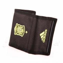 Cartera-billetera oficial Selección Española negro Adidas