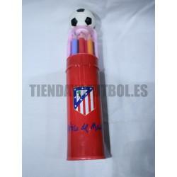 Bote pinturas Atlético de Madrid