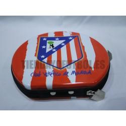 Porta Video-juegos y porta CDs oficial Atlético de Madrid
