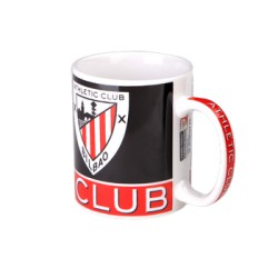 Taza MUG negra Athletic Club de Bilbao