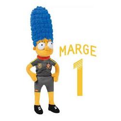Simpsons Federacion Española Futbol Marge