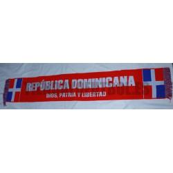 Bufanda de República Dominicana