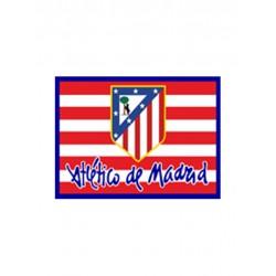 Bandera oficial Atlético de Madrid Rojiblanca