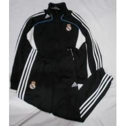 Chándal oficial Negro Jr. Real Madrid CF Adidas