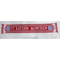 Bufanda del Bayern de Múnich roja