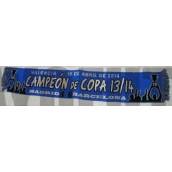 Bufanda de Campeón Copa 2013/14