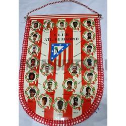 Banderín oficial Atlético de Madrid Antiguo