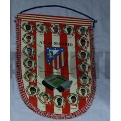 Banderín Atlético de Madrid Antiguo